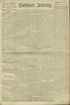 Stettiner Zeitung. 1900, Nr. 140 (19 Juni)