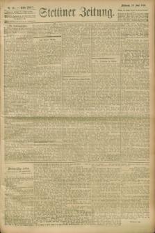 Stettiner Zeitung. 1900, Nr. 141 (20 Juni)