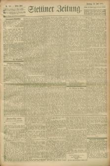 Stettiner Zeitung. 1900, Nr. 145 (24 Juni)
