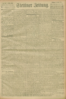 Stettiner Zeitung. 1900, Nr. 146 (26 Juni)