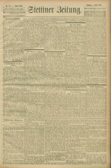 Stettiner Zeitung. 1900, Nr. 151 (1 Juli)