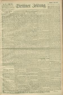 Stettiner Zeitung. 1900, Nr. 157 (8 Juli)