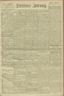 Stettiner Zeitung. 1900, Nr. 163 (15 Juli)