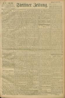Stettiner Zeitung. 1900, Nr. 167 (20 Juli)