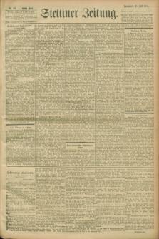 Stettiner Zeitung. 1900, Nr. 168 (21 Juli)
