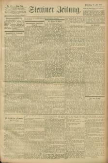 Stettiner Zeitung. 1900, Nr. 172 (26 Juli)