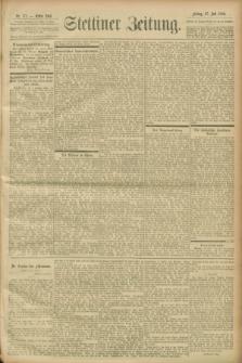 Stettiner Zeitung. 1900, Nr. 173 (27 Juli)
