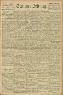 Stettiner Zeitung. 1900, Nr. 174 (28 Juli)