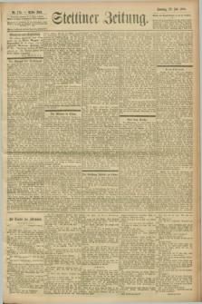 Stettiner Zeitung. 1900, Nr. 175 (29 Juli)
