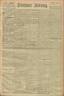 Stettiner Zeitung. 1900, Nr. 176 (31 Juli)