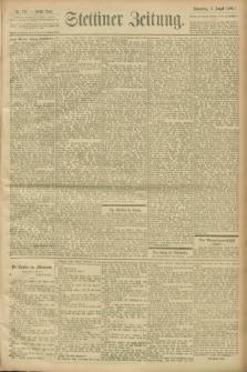 Stettiner Zeitung. 1900, Nr. 178 (2 August)