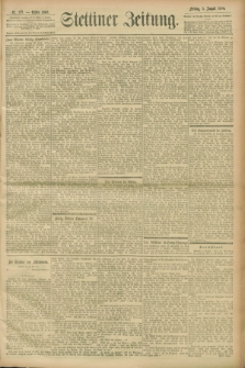 Stettiner Zeitung. 1900, Nr. 179 (3 August)