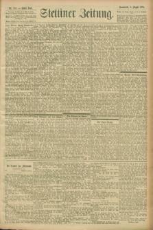 Stettiner Zeitung. 1900, Nr. 180 (4 August)