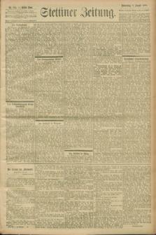 Stettiner Zeitung. 1900, Nr. 184 (9 August)