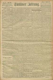 Stettiner Zeitung. 1900, Nr. 185 (10 August)