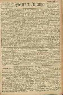 Stettiner Zeitung. 1900, Nr. 186 (11 August)