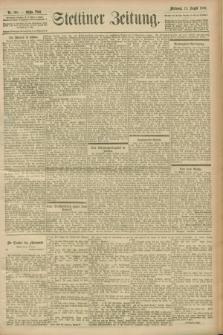 Stettiner Zeitung. 1900, Nr. 189 (15 August)