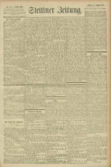 Stettiner Zeitung. 1900, Nr. 191 (17 August)