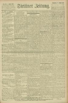 Stettiner Zeitung. 1900, Nr. 192 (18. August)