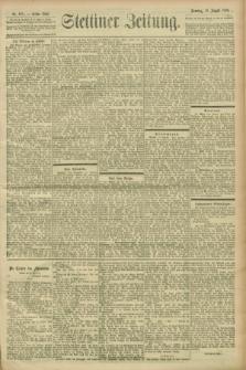 Stettiner Zeitung. 1900, Nr. 193 (19 August)