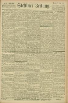 Stettiner Zeitung. 1900, Nr. 194 (21 August)