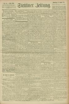 Stettiner Zeitung. 1900, Nr. 196 (23 August)
