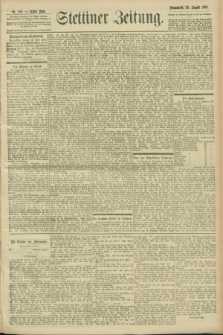 Stettiner Zeitung. 1900, Nr. 198 (25. August)