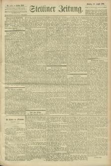 Stettiner Zeitung. 1900, Nr. 200 (28 August)