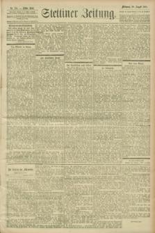 Stettiner Zeitung. 1900, Nr. 201 (29 August)