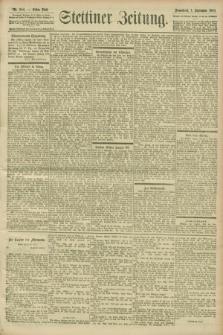Stettiner Zeitung. 1900, Nr. 204 (1 September)
