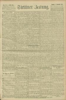 Stettiner Zeitung. 1900, Nr. 205 (2 September)