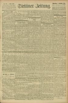 Stettiner Zeitung. 1900, Nr. 208 (6 September)