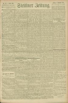 Stettiner Zeitung. 1900, Nr. 209 (7 September)