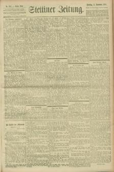 Stettiner Zeitung. 1900, Nr. 212 (11 September)
