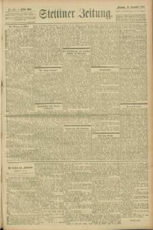 Stettiner Zeitung. 1900, Nr. 213 (12 September)