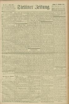 Stettiner Zeitung. 1900, Nr. 215 (14 September)