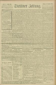Stettiner Zeitung. 1900, Nr. 217 (16 September)