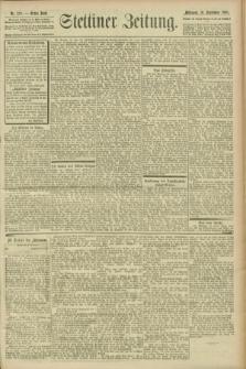 Stettiner Zeitung. 1900, Nr. 219 (19 September)