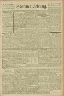 Stettiner Zeitung. 1900, Nr. 220 (20 September)
