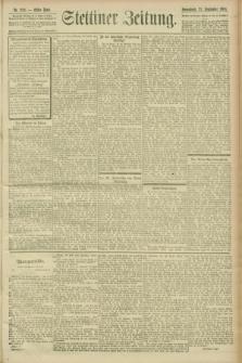 Stettiner Zeitung. 1900, Nr. 222 (22 September)