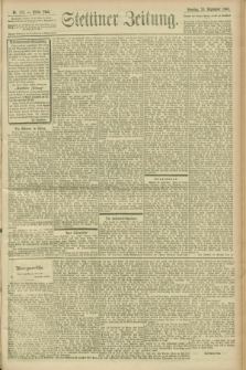 Stettiner Zeitung. 1900, Nr. 223 (23 September)