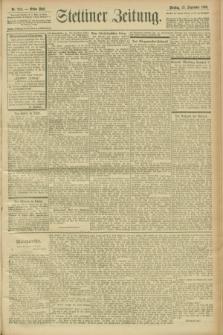 Stettiner Zeitung. 1900, Nr. 224 (25 September)