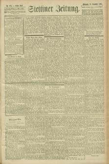 Stettiner Zeitung. 1900, Nr. 225 (26 September)