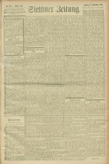 Stettiner Zeitung. 1900, Nr. 227 (28 September)