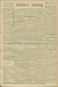 Stettiner Zeitung. 1900, Nr. 229 (30 September)