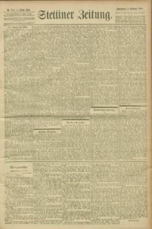 Stettiner Zeitung. 1900, Nr. 234 (6 Oktober)