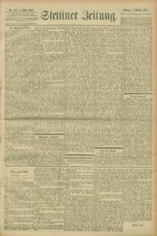 Stettiner Zeitung. 1900, Nr. 235 (7 Oktober)