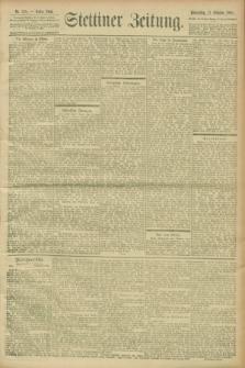 Stettiner Zeitung. 1900, Nr. 238 (11 Oktober)