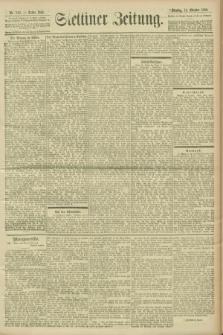 Stettiner Zeitung. 1900, Nr. 242 (16 Oktober)