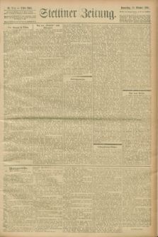 Stettiner Zeitung. 1900, Nr. 244 (18 Oktober)